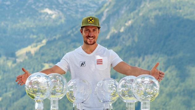 Marcel Hirscher: 'Hab' mich richtig geschreckt' (Bild: APA/EXPA/JFK)