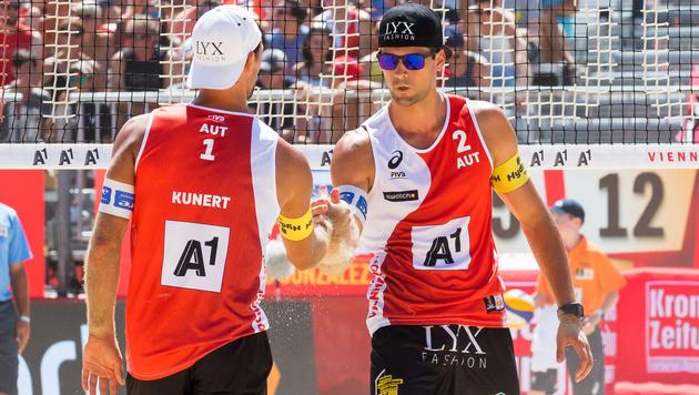 ÖVV-Duo Kunert/Dressler mit Niederlage zum Start (Bild: APA/EXPA/SEBASTIAN PUCHER)