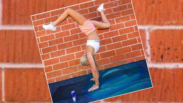 Allerhand, was Lindsey Vonn so drauf hat! Sehr akrobatisch, Chapeau!