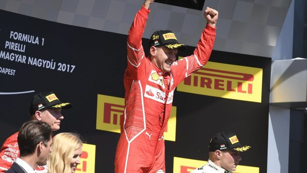 WM-Leader Vettel kann doch noch gewinnen (Bild: AP)