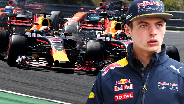 Max Verstappen stellt Red Bull ein Ultimatum (Bild: AFP)