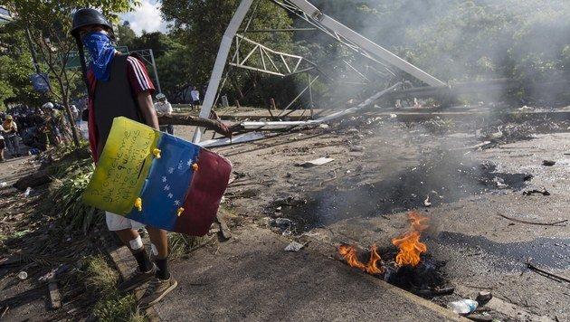 """Trump droht Venezuela mit """"militärischer Reaktion"""" (Bild: EPA)"""