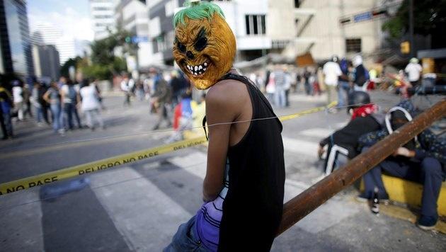 Mehrere Tote bei Verfassungswahl in Venezuela (Bild: The Associated Press)