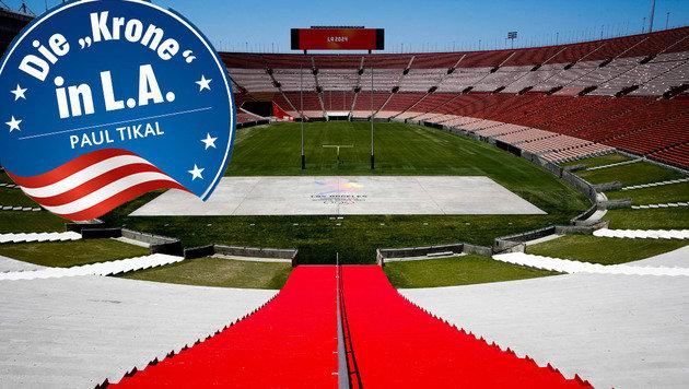 Los Angeles bekommt seine dritten Sommerspiele (Bild: AP)