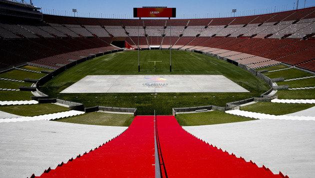 Stadtrat von LA stimmt Olympia-Deal für 2028 zu (Bild: AP)