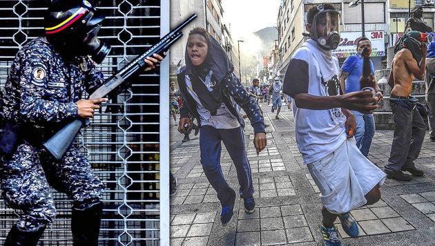 """Trump droht Venezuela mit """"militärischer Reaktion"""" (Bild: AFP)"""