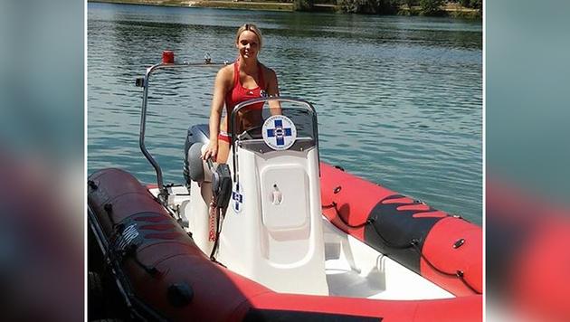 Schwimmtrainerin rettet Bub (5) vor dem Ertrinken (Bild: Wasserrettung Traun)