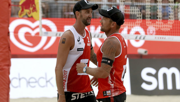 Volleyball-Boss traut Doppler/Horst WM-Medaille zu (Bild: AP)
