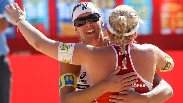 Schwaiger/Schützenhofer treffen auf Schweizer Duo (Bild: GEPA)