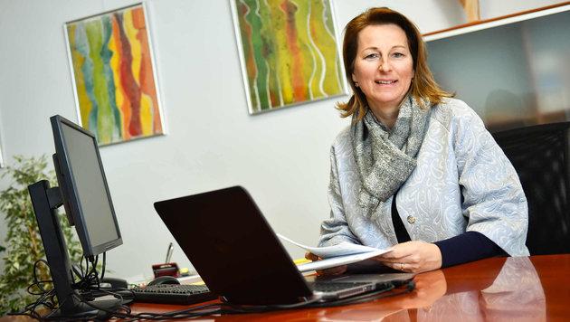 Elisabeth Paruta-Teufer wehrt sich gegen sämtliche Kritik, will nun auf Investoren-Suche gehen. (Bild: Markus Wenzel)