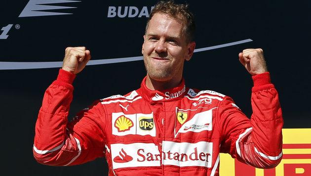 """WM-Leader Vettel will in Monza """"Attacke"""" starten (Bild: Ap)"""