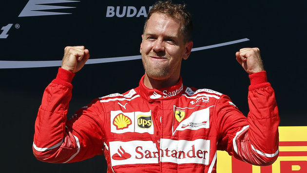 Mega-Vertrag! Vettel vor Verlängerung bei Ferrari (Bild: Ap)