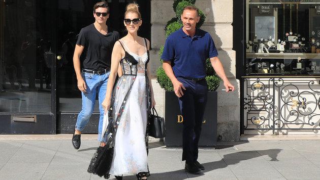 Celine Dion in Paris (Bild: www.PPS.at)