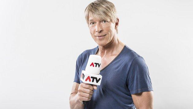 Dominik Heinzl ist wieder für ATV unterwegs. (Bild: ERNST KAINERSTORFER)