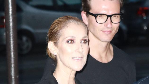 Celine Dion und der Tänzer Pepe Munoz (Bild: www.PPS.at)
