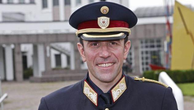 Verdient: Polizeidirektor Franz Ruf (Bild: Markus Tschepp)