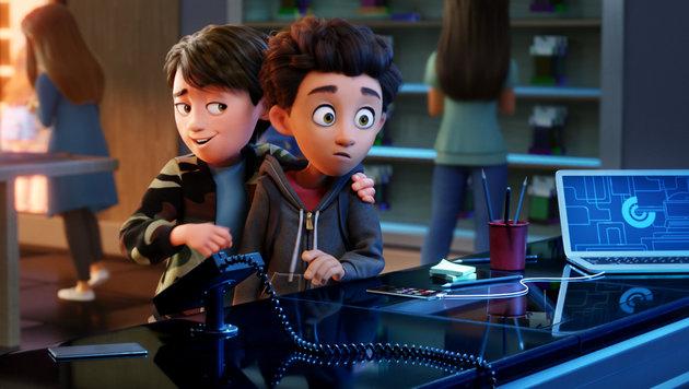 """Willkommen in Textopolis: """"Emoji - Der Film"""" (Bild: Sony Pictures)"""