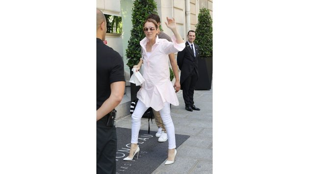 Celine Dions Fashionsommer in Paris (Bild: www.PPS.at)
