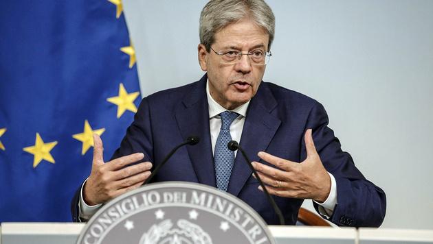 Italiens Ministerpräsident Gentiloni (Bild: ASSOCIATED PRESS)
