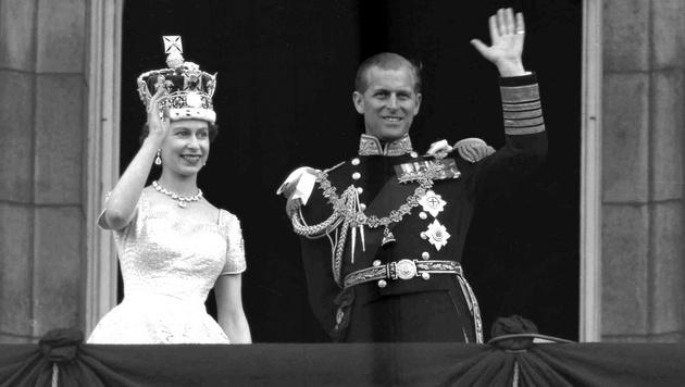 Prinz Philip und die Queen (1953) (Bild: Copyright 2017 The Associated Press. All rights reserved.)
