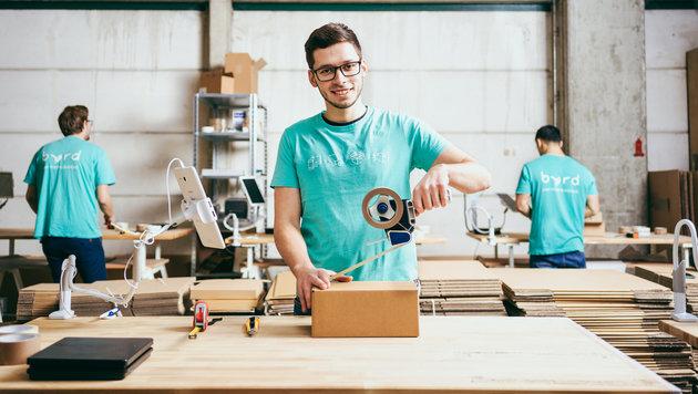Byrd beschäftigt beschäftigt allein in Berlin bereits 20 Mitarbeiter. (Bild: Byrd)