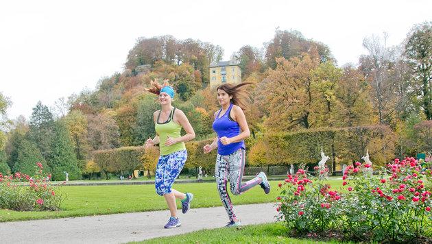 Zwei Läuferinnen - wie auf unserem Symbolbild - sollen in Linz von Arabern belästigt worden sein (Bild: wildbild)
