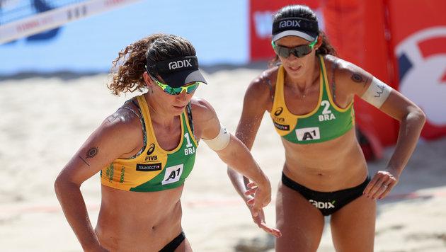 Larissa und Talita aus Brasilien (Bild: GEPA)
