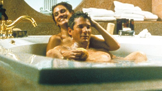 "Richard Gere und Julia Roberts in ""Pretty Woman"" (Bild: Moviestore Collection/face to fa)"