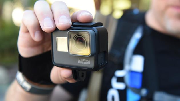 Minus reduziert: Bei GoPro läuft es wieder besser (Bild: AFP)