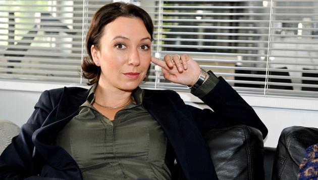 """Ursula Strauss spielt in """"Schnell ermittelt"""" Chefinspektorin Angelika Schnell. (Bild: ORF)"""