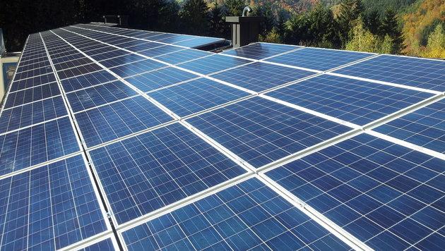 Das Land fördert Firmen beim Bau von Solaranlagen mit insgesamt 3,5 Millionen Euro. (Bild: Foto: Krone)