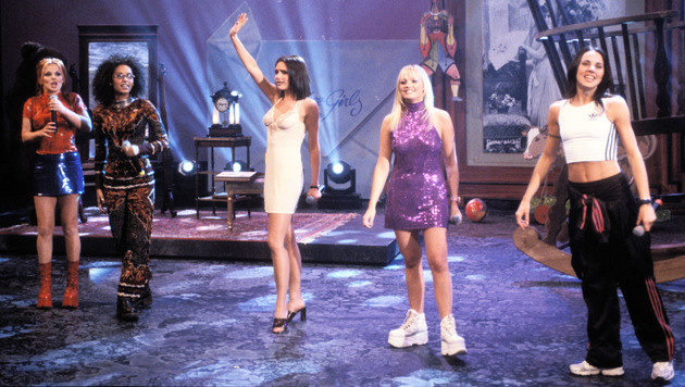 Spice Girls (Bild: Peter Clay/face to face)