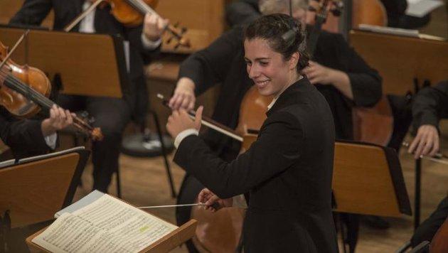 Frauen sind nicht zu unterschätzen: Marie Jacquot schaffte es ins Dreier-Finale. (Bild: SF/Marco Borrelli)