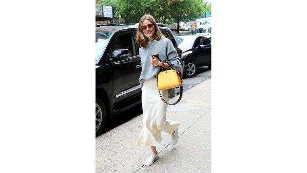 Fashion-Bloggerin Olivia Palermo zeigt ihren perfekten Streetstyle. (Bild: www.PPS.at)