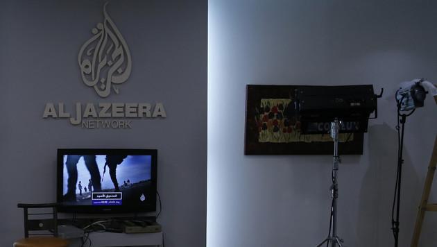 Israel will TV-Sender Al-Jazeera schließen (Bild: AFP)