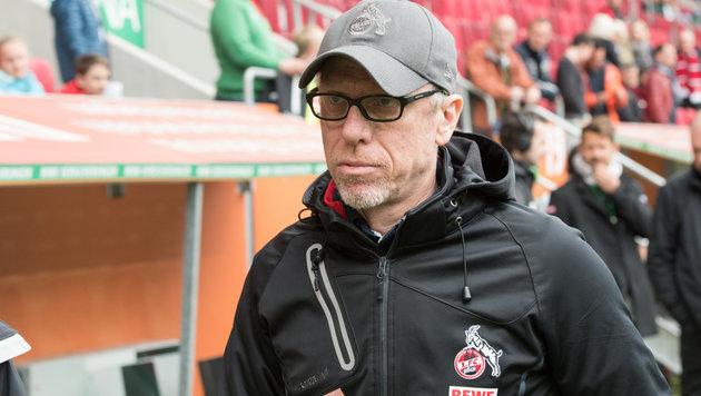 Peter Stöger sauer auf Testspiel-Treter (Bild: GEPA)