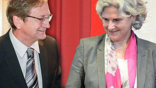 Karl Schnell, Barbara Rosenkranz (Bild: APA/NEUMAYR/RH, APA/HERBERT NEUBAUER, krone.at-Grafik)
