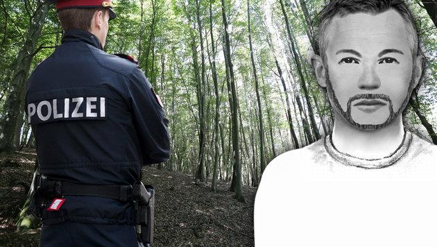 Dieser Mann soll in Niederösterreich eine 40-Jährige betäubt und vergewaltigt haben. (Bild: APA/GEORG HOCHMUTH, Polizei, Juergen Radspieler, krone.at-grafik)