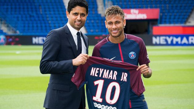 Transfer-Zoff: Neymar droht Barca mit Anzeige! (Bild: GEPA)
