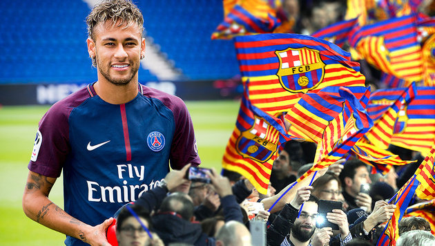 "Geschmacklos! Barca-Fans schimpfen: ""Neymar stirb"" (Bild: GEPA, AFP)"
