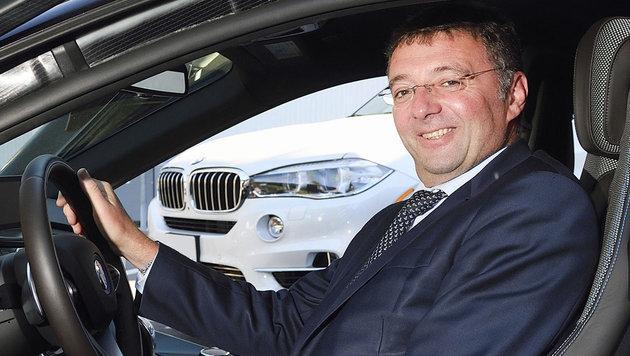 Verkehrsminister Jörg Leichtfried will ab 2030 nur noch abgasfreie Autos zulassen. (Bild: BMVIT/Johannes Zinner)