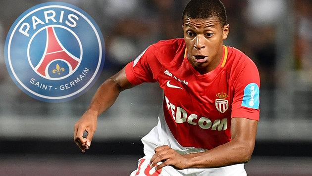 Endgültig fix! PSG holt Mbappe aus Monaco (Bild: AFP, PSG)