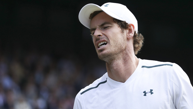 Hüftverletzung! Saison für Andy Murray wohl vorbei (Bild: AFP)