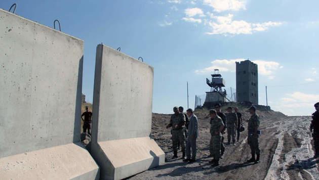 Türkei baut jetzt Mauer an der Grenze zum Iran (Bild: Viennareport)