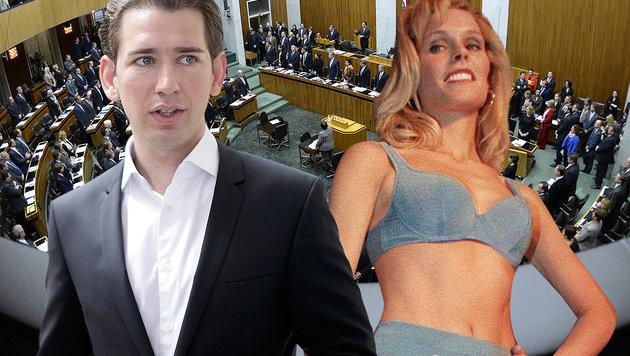 Ex-Miss-Austria tritt bei Wahl für Liste Kurz an (Bild: APA/Rubra, APA/GEORG HOCHMUTH, APA/ROBERT JAEGER)