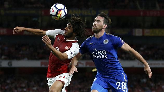 Fuchs verliert mit Leicester unglücklich in London (Bild: AFP)