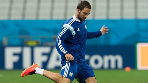 Juve-Star Higuain fliegt aus Argentinien-Team (Bild: GEPA)