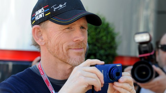 Howard filmt auch privat - etwa den Grand Prix von Monaco. (Bild: AFP/Boris Horvat)