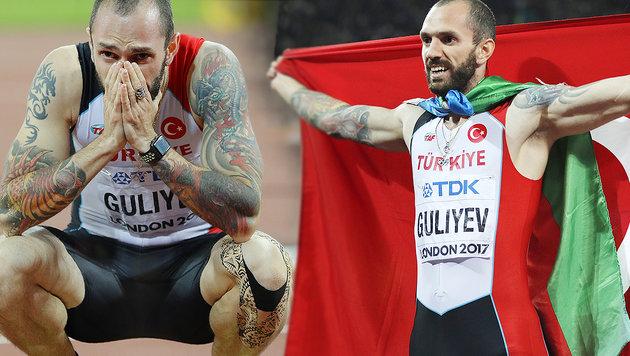 Türken-Sprinter sensationell! Sieg über 200 Meter (Bild: AP)