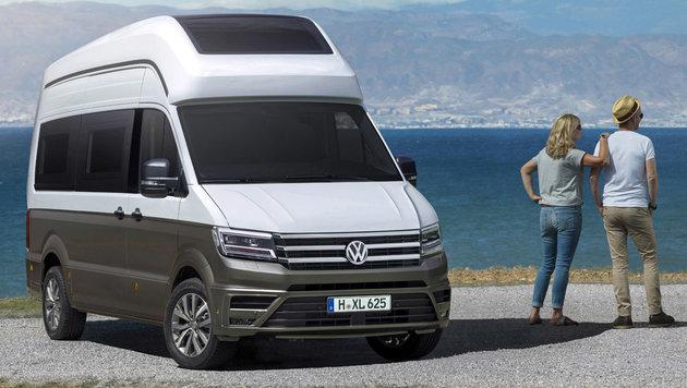 VW macht den  Crafter zum California-Campingbus (Bild: Volkswagen)